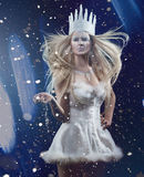 Gorgeous Snow queen Royalty Free Stock Photography