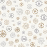 Gorgeous snowflakes background Stock Photos