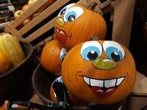 Gorgeous Squash and fun to celebrate Halloween royalty free stock photo