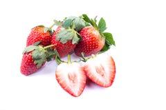 Gorgeous strawberry Stock Image