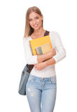 Gorgeous student girl. Royalty Free Stock Photo