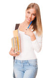 Gorgeous student girl. Stock Image