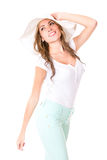 Gorgeous summery woman Royalty Free Stock Image