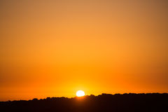 Gorgeous sunset in Essaouira Royalty Free Stock Photo