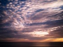 Gorgeous sunset near ocean. Background morning beach nature beautiful landscape dusk sea horizon peace south sunrise beauty quiet summer sky natural water royalty free stock photo