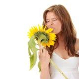 Gorgeous teenage female Stock Images