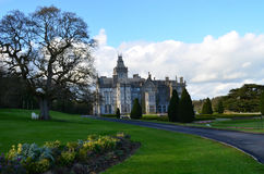 Gorgeous View of Adare Manor in Adare Ireland Royalty Free Stock Photo