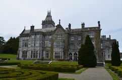 Gorgeous View of Adare Manor in County Limerick Ireland. Ireland`s beautiful Adare manor in County Limerick Stock Photos