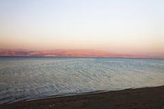 Gorgeous view on the Dead sea coast Stock Photos