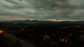 Gorgeous view from drone in boulder Colorado. Photo taken from my Stock Photography