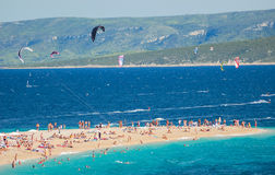 Gorgeous view on Golden Cape on Brac island, Croatia Royalty Free Stock Photography