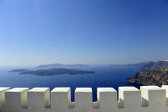 Gorgeous view of romantic Santorini Royalty Free Stock Images