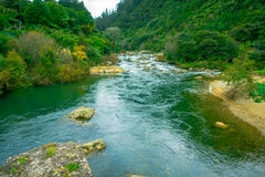 Gorgeous waikato river Arapuni located in New Zealand.  Stock Photography