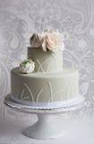 Gorgeous wedding cake Stock Photography