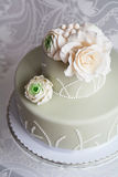Gorgeous wedding cake Royalty Free Stock Photography