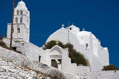 Gorgeous white orthodox church Royalty Free Stock Photo
