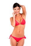 Gorgeous woman in bikini Royalty Free Stock Images