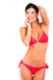 Gorgeous woman in bikini Royalty Free Stock Photo