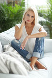 Gorgeous woman Stock Photography