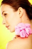 Gorgeous woman royalty free stock photography