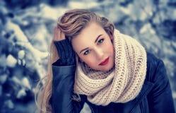 Gorgeous woman portrait Stock Images