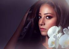 Gorgeous woman portrait Stock Photo