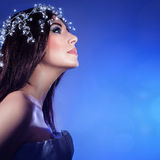 Gorgeous woman portrait Royalty Free Stock Photography