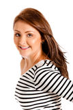 Gorgeous woman smiling Royalty Free Stock Photography