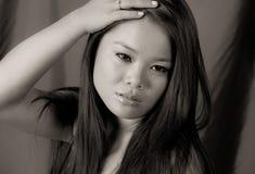 Gorgeous Young Asian Woman Stock Photos