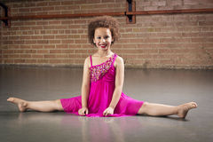 Gorgeous young ballerina Stock Photography