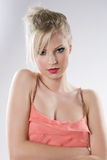 Gorgeous young blond woman. Royalty Free Stock Images