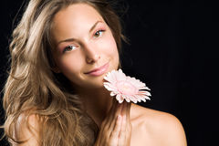 Gorgeous young brunette. Royalty Free Stock Images