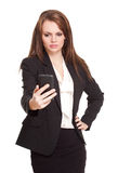 Gorgeous young businesswoman. Stock Photography
