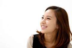 Gorgeous young female smiling confidently Royalty Free Stock Image