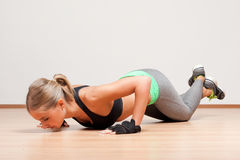 Gorgeous young fitness woman. Stock Image