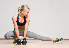 Gorgeous young fitness woman. Stock Photography