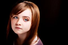 Gorgeous young girl Royalty Free Stock Image