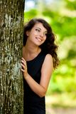 Gorgeous young lady outdoor Royalty Free Stock Photo