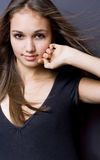 Gorgeous young model girl. Royalty Free Stock Photography