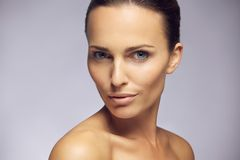 Gorgeous young model with perfect complexion Royalty Free Stock Image