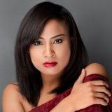 Gorgeous Young Multiracial Woman stock photos