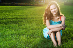 Gorgeous young pretty woman Royalty Free Stock Photography