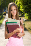 Gorgeous young student. Royalty Free Stock Photography