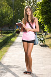 Gorgeous young student. Royalty Free Stock Photos