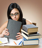Gorgeous young student woman. Royalty Free Stock Photo