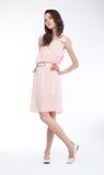 Gorgeous young stylish female - studio shot Stock Images