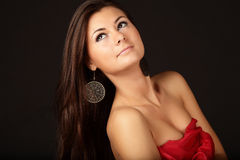 Gorgeous young woman Stock Images