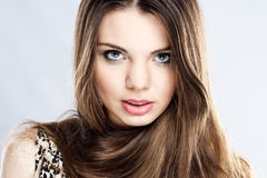 Gorgeous young woman Stock Image