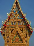 Gorgeously crafted Thai temple Royalty Free Stock Images