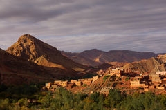 Gorges de Dades, Atlas Mountain in Morocco. Monkey fingers. Royalty Free Stock Image